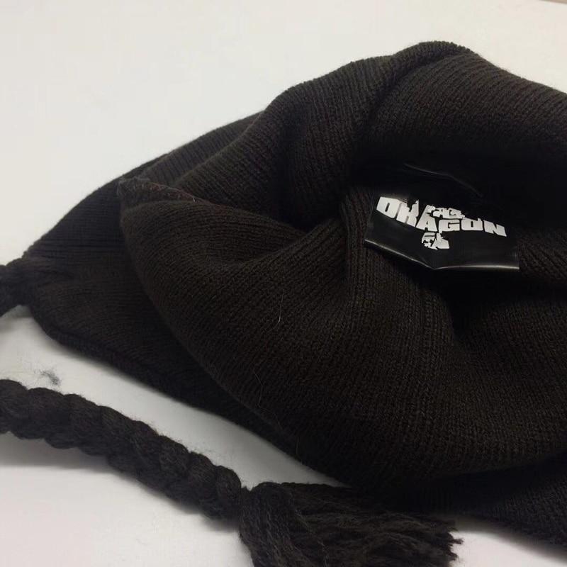 1405dd5d98ae2 New Train Your Dragon Toothless Night Fury Cartoon Black Hat Soft Plush  Warm Winter E Hat Anime Cosplay Cap Fleece Beanies-in Skullies   Beanies  from ...