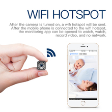 Mini Wireless IP Camera Security Camera WiFi Infrared Motion Detection
