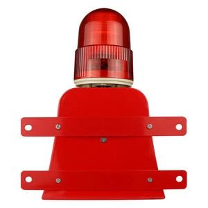 Image 5 - Sirene de aviso de 120db, sirene de sinal de luz e alarme visual ao ar livre, anúncio de segurança 12v 24v 220v v