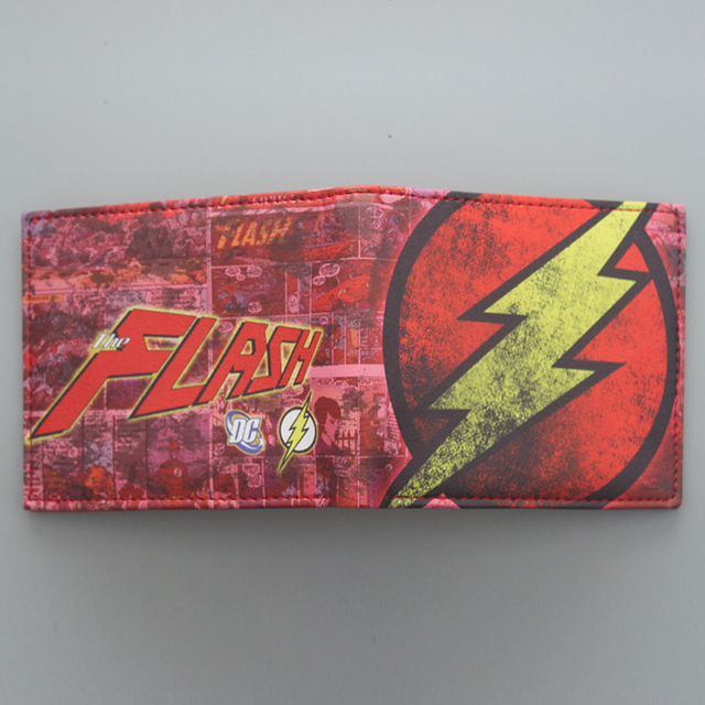 The Flash- Vintage Leather Wallet (9 types)