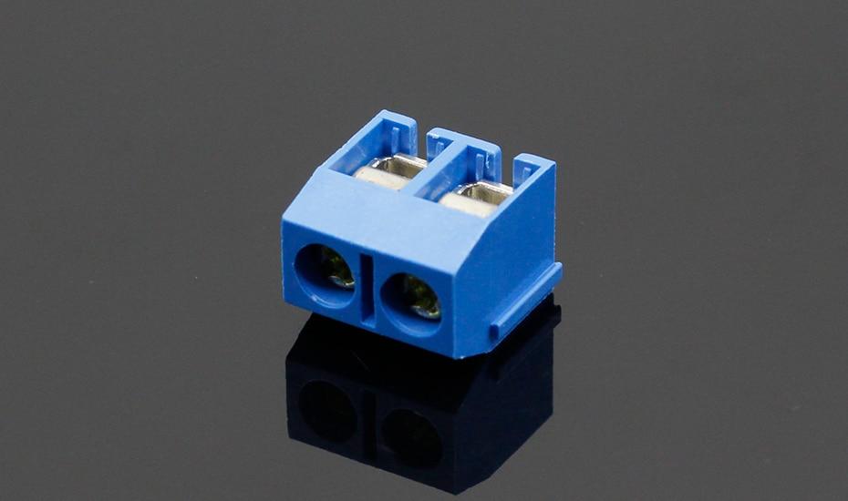 HTB1onvdfDXYBeNkHFrdq6AiuVXa3 - 20PCS/LOT KF301-2P KF301-5.0-2P KF301 Screw 2Pin 5.0mm Straight Pin PCB Screw Terminal Block Connector Blue and green