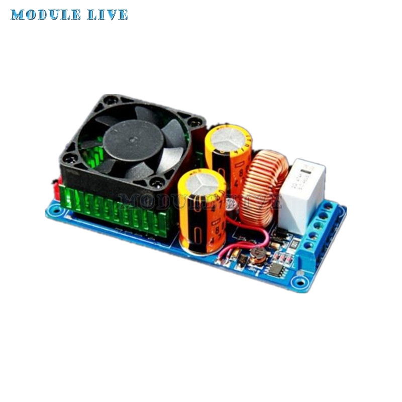 500W D HIFI Amplifier Board High Power dac Digital Class Audio Amplifier Tube Amplifier Mono-Channel Amp Board IRS2092S jungson ja 2 ja 100 standard version pre amplifier and power amplifier amp hifi amplifier mono amp mono amplifier pure class a
