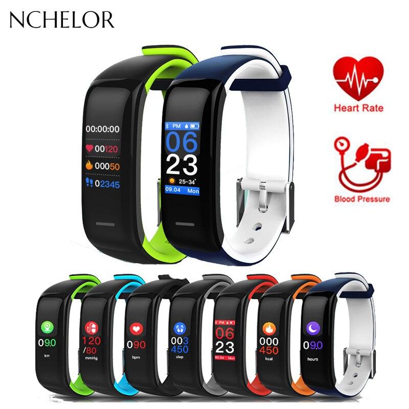 Reloj inteligente de alto rendimiento con Bluetooth resistente al agua, podómetro deportivo, reloj inteligente para hombre y mujer, reloj digital, banda inteligente para hombre
