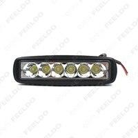 V1NF 6Inch 18W 6LEDs Work Light Bar Spot Driving Lights Offroad Fog 4WD Car SUV J