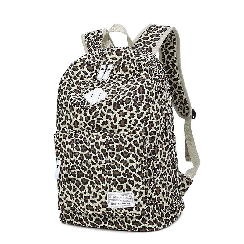 Printing Backpack Fashion Leopard Feminine Backpack Youth Teenage Backpacks For Teen Girls Female Mochila Feminina New