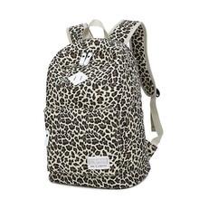 Printing Backpack Fashion Leopard Feminine Backpack Youth Teenage Backpacks For Teen Girls Female Mochila Feminina New Sac A Dos