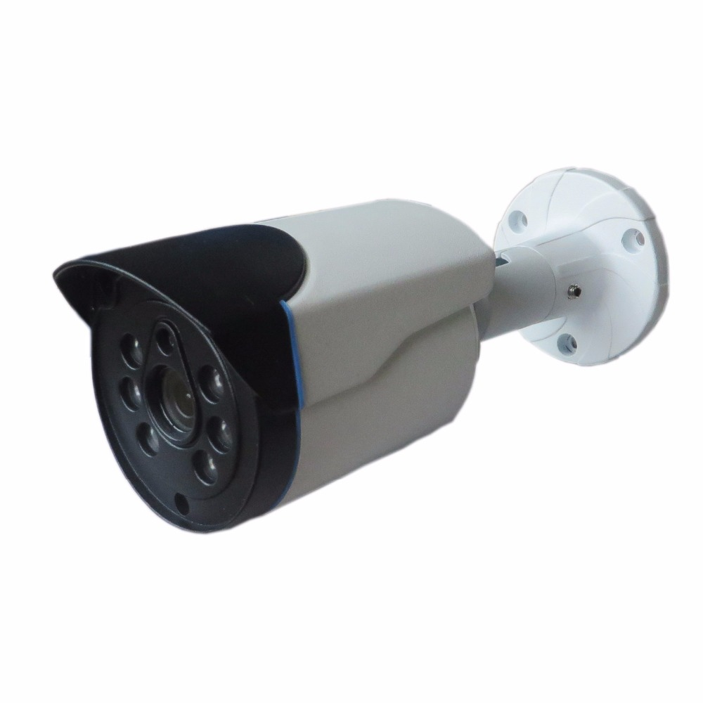HD CCTV Camera 1080P 4in1  ADH/TVI/CVI/CVBS mini IR Bullet Metal Cable OSD hd ahd cvi tvi cvbs bullet camera with alarm speaker waterproof ip67 hd 1080p 4 in 1 security camera outdoor night vision ir 20m