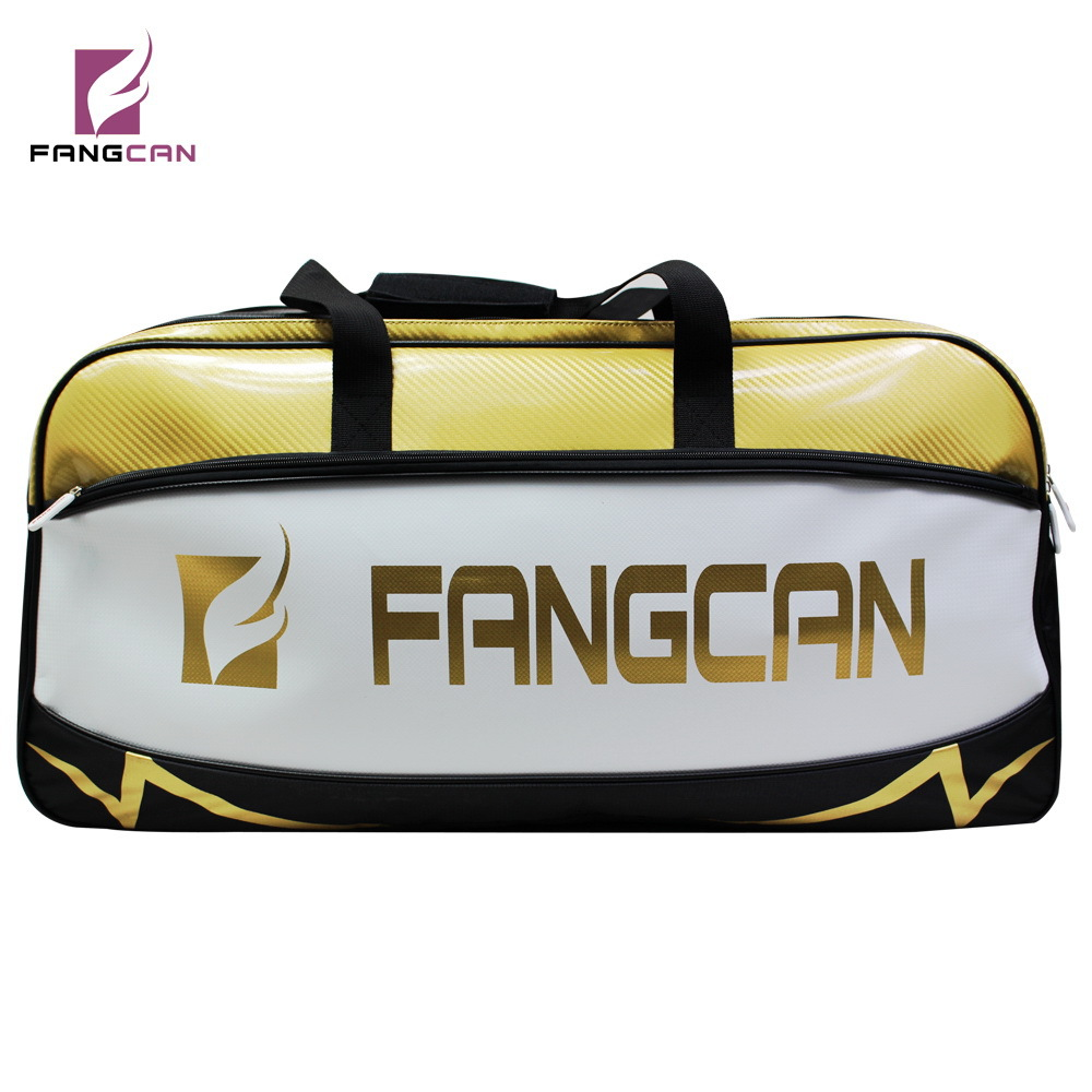 FANGCAN multifunctional Square Sports Bag, Shoulder Racket Bag High Capacity separated Shoes Bag shanghai kuaiqin kq 5 multifunctional shoes dryer w deodorization sterilization drying warmth
