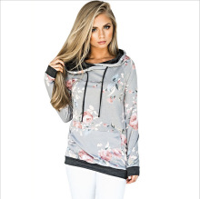 women hoodies sweatshirt pink 2018 autumn fashion sweatshirts floral classics winter fall clothes gothic