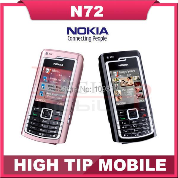 Nokia N72, reformado teléfonos móviles de Radio FM 2 MPBluetooth Jave