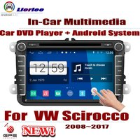 Auto DVD Player GPS Navigation For Volkswagen Scirocco 2008~2017 Car Android Multimedia System HD Screen Radio Stereo Head Unit