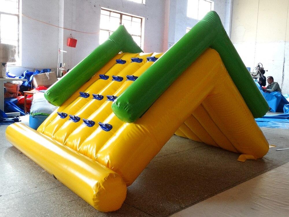 Personnalisé gonflable Parc aquatique, sports nautiques gonflables, toboggan gonflable sur l'eau