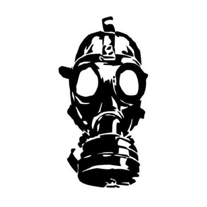 Back To Search Resultsautomobiles & Motorcycles Exterior Accessories Loyal Fashion Hazard Gas Mask Toxic Steampunk Zombie Vinyl Decal Car Sticker Black/silver Cool In Summer And Warm In Winter