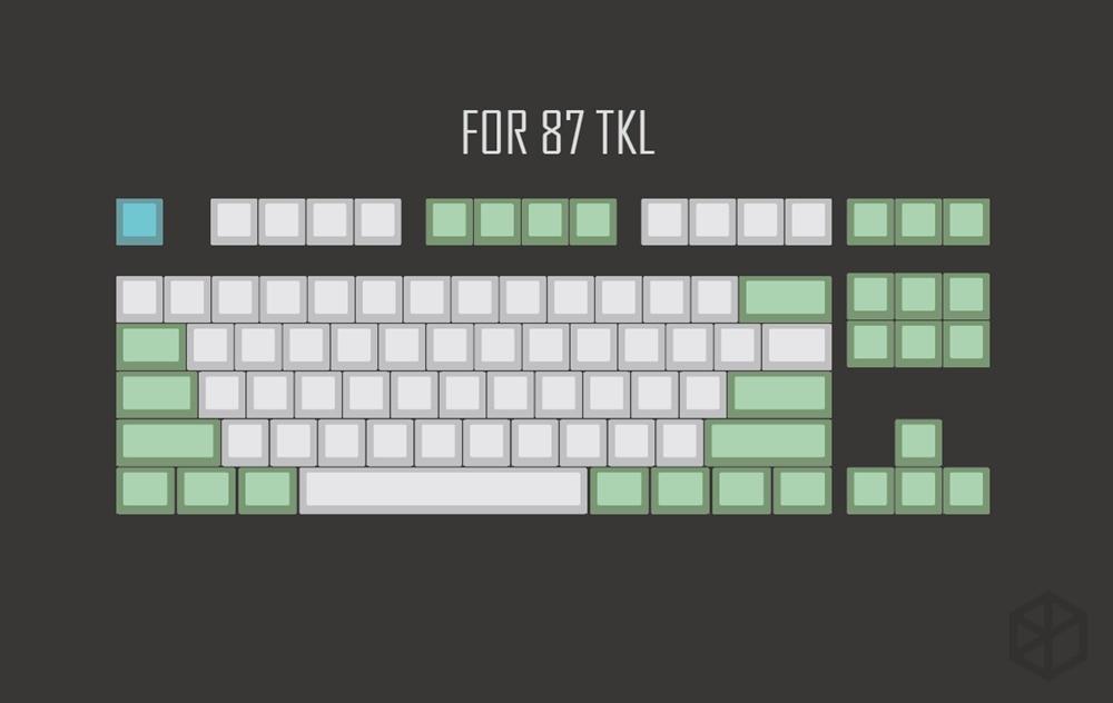 Keycap tada68 الأبيض xd96 4