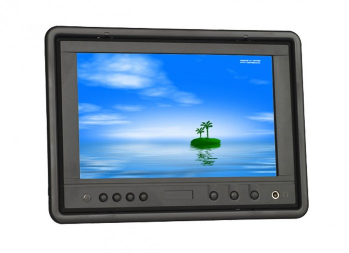 LILLIPUT HR702-NP/C/T 7 Inch LED Touch Screen Monitor,With VGA Connect With Computer,1 Audio,2 Video Input,Built-in Speaker carpc monitor auto computer monitors 7inch led touch screen monitor with vga and 2av av2 reverse camera for car pc