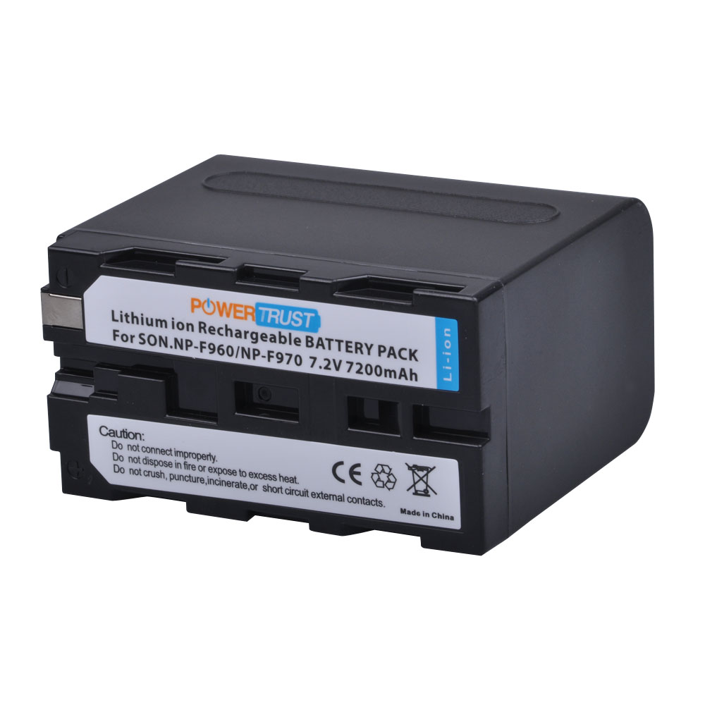 Batería 2x para Sony np-f960 np-f970 npf960 npf970