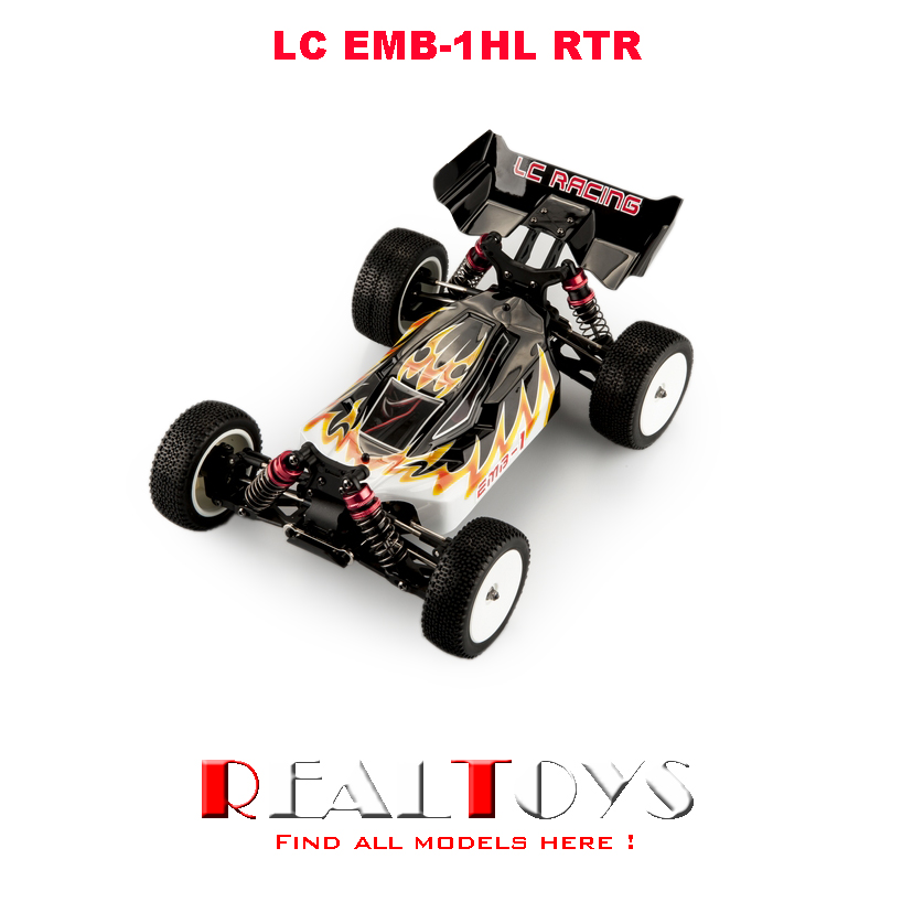 LC Racing 1/14th EMB-1HL Electric brush power Off-Road RC Buggy RTR hongnor ofna x3e rtr 1 8 scale rc dune buggy cars electric off road w tenshock motor free shipping