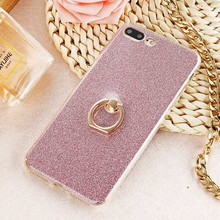 AKABEILA Phone Cover Case For Apple iPhone 7 Plus iPhone7 Plus A1661 A1784 iPhone 7 Pro 5.5 inch Case Glitter Silicone Cover