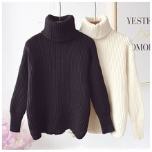 Turtleneck Sweater Women Pullover High Elasticity Knitted Ribbed Slim Jumper Autumn Winter Basic Female Sweater truien dames turtleneck ribbed jumper sweater