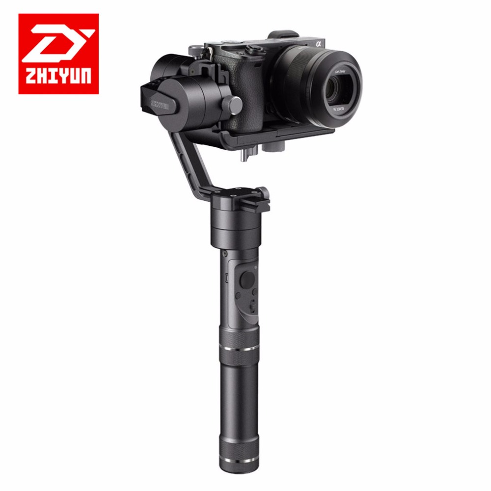 Zhiyun Crane M 3-axis Handheld Stabilizer Gimbal for Smartphone Mirroless DSLR for Gopro Support 650g Smartphone zhiyun crane m 3 axle handheld stabilizer gimbal remote controller case for dslr camera support 650g smartphone camera f19238 a