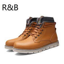 2016 Hot Sale Winter Autumn Brand Men Shoes Martin Boots Suede Leather Warm Snow Boots Hiking Timber Boots Botas Hombre Boots
