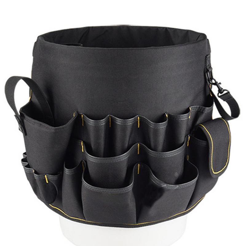 Electric Bucket Tool Bag Home Garden Hardware Tools Storage Bags Repair Kits Construction Toolkit Load Bearing 10KG