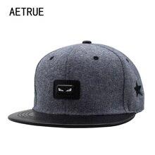 AETRUE модная женская бейсболка Мужская бейсболка s шапки для мужчин хип-хоп бренд Bone Casquette Gorras регулируемые кепки-бейсболки