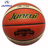 JUNRUI PU Lederen Mannen Basketbal Officiële Maat 7 Indoor Outdoor Mannen Vrouwen slijtvaste Basketbal Bal Apparatuur Sport JB-706