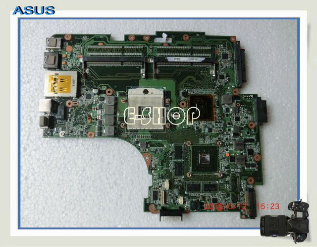 US $58 0 |For ASUS Laptop Motherboard N53JF HM55 With GT425M 1G I7 cpu Four  Memory Solt Mainboard All Functions Good Work-in Motherboards from