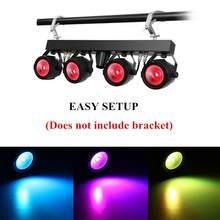 New 30W COB RGB stage light DMX remote control par light DJ 7 DMX Channels for christmas wedding party stage lighting effect(China)
