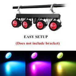 Nova 30W COB RGB luz do estágio de DMX luz par controle remoto DJ 7 Canais DMX para a festa do casamento do natal efeito de iluminação de palco