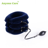 Portable Inflatable Household Multi Color Three Tube Retractor Relieve Cervical Pain Full Round Neck Cervical Traction