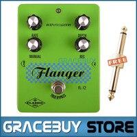 Guitar Effect Pedal Green Biyang Classic Versatile Flanger True Bypass Pedals For Guitarra New