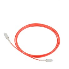 цена на 1m SC LC FC UPC Patchcord Simplex OM1 Multimode PVC (OFNR) 2.0mm Fiber Optic Patch Cable