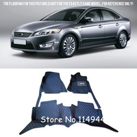 For Ford Mondeo 2008 2009 2010 2011 2012 Interior Durable Waterproof Custom Car Floor Mats Carpets