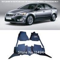 for Ford Mondeo 2008 2009 2010 2011 2012 Interior Durable Waterproof Custom Car Floor Mats Carpets Full Set