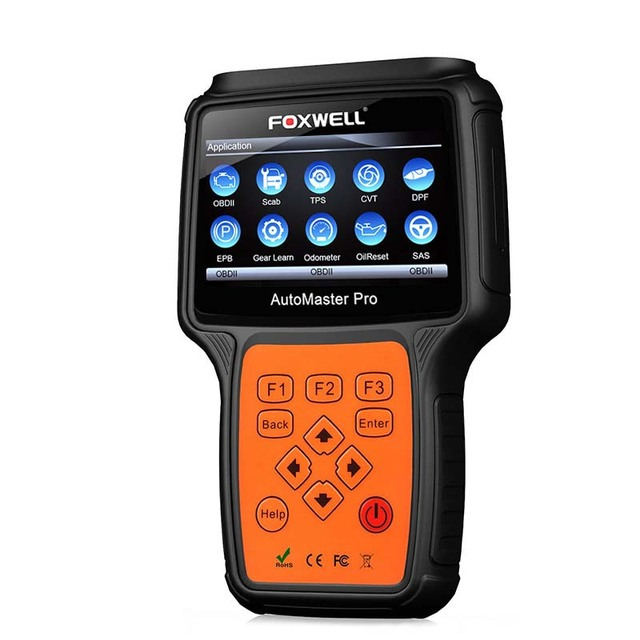 Cheap FOXWELL Airbag TPMS OBD OBD2 Auto Scan Automotive Scanner  NT644 PRO Full System Diagnostic Tool Diagnosis Functions of ABS DPF