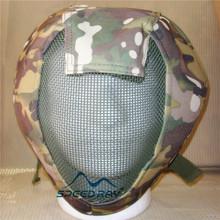Adjustable Full Face Airsoft Safety Mesh Mask Protective for Sport Outdoor BB Gun Paint Ball High Quality – CP