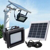 Quality 54 LEDs Floodlight Solar Sensor Lamp Light Waterproof IP65 Outdoor Emergency Security Garden Street Flood Light