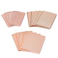5pcs Universal Bakelite Circuit Board DIY Prototype PCB Prototyping Track Plate Electrical Equipment & Supplies