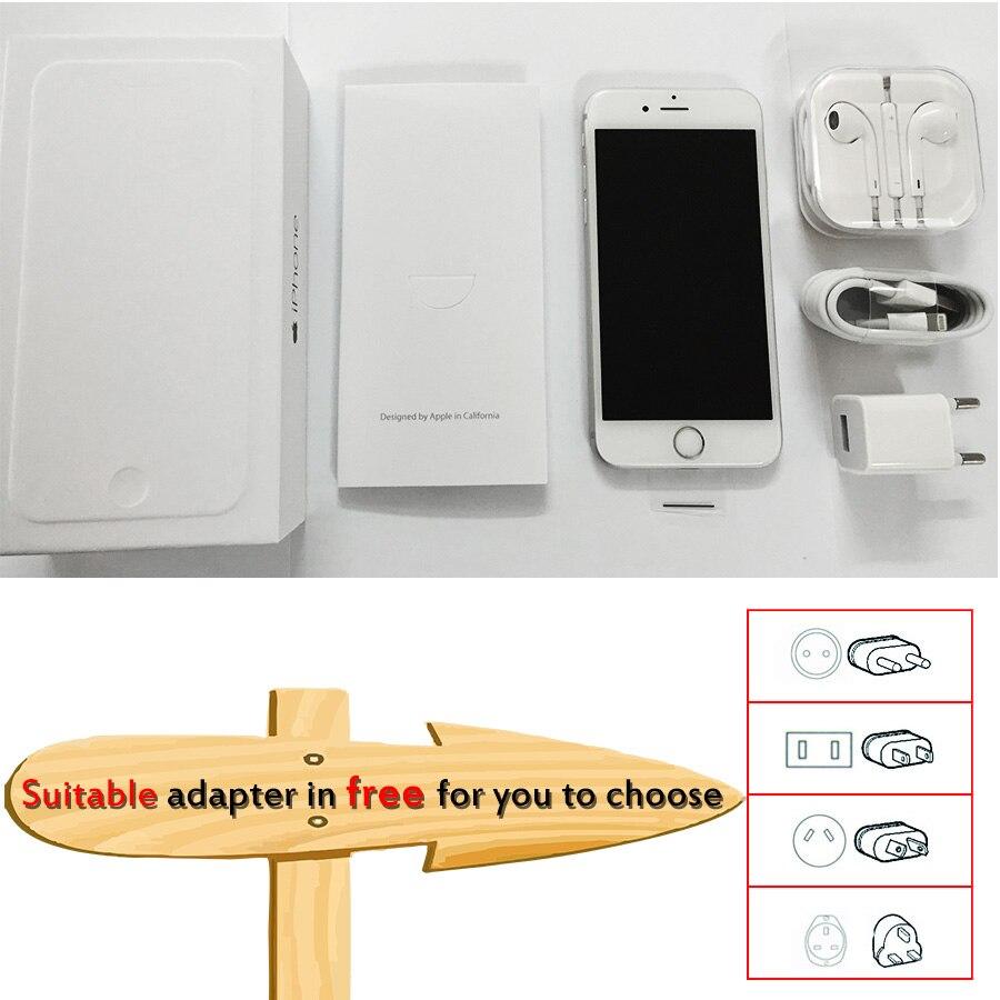 Déverrouillé Apple iPhone 6 1 GB RAM 4.7 pouce IOS Dual Core 1.4 GHz 16/64/128 GB ROM 8.0 MP Caméra 3G WCDMA 4G LTE Utilisé Mobile téléphone - 4