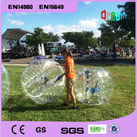 Free Shipping 1.2m Inflatable Football Bubble Ball Bumper Ball Body Zorbing Bubble Soccer Human Bouncer Bubbleball Zorb Ball