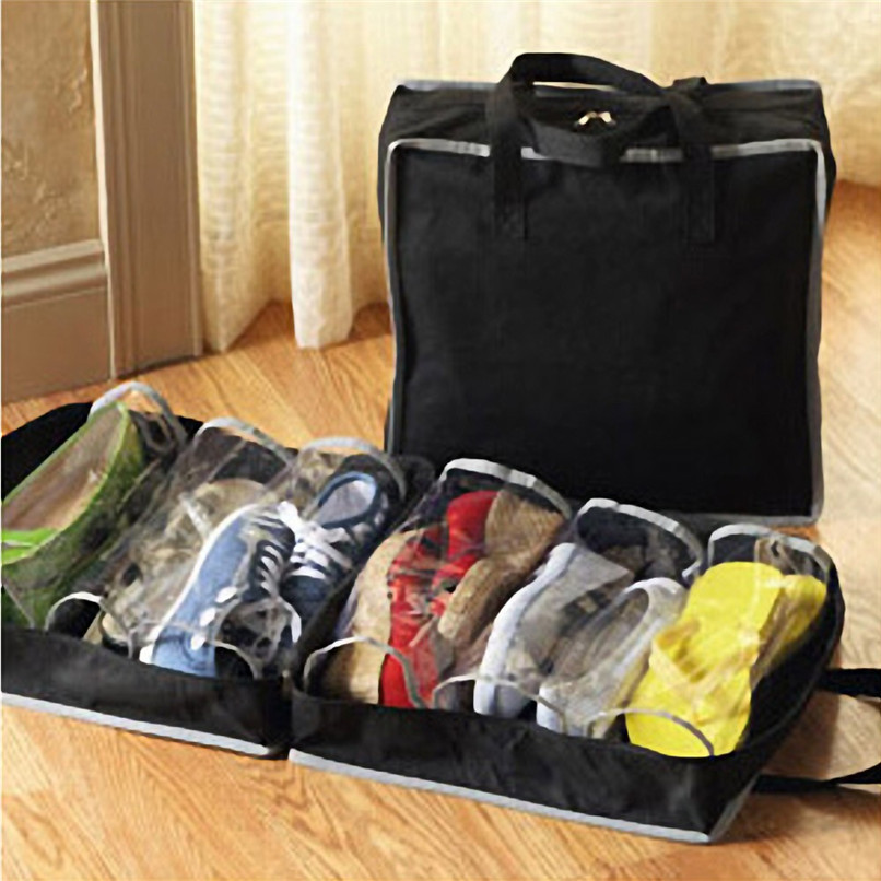 Portable Shoes Travel Storage Bag Organizer Tote Luggage Carry Pouch Holder Wholesale Free Shipping 30RJL31 #3T5