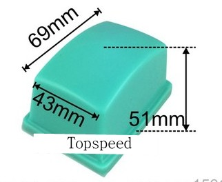 Offen 69x43mm Silikon Gummi Pad Für Pad Druck Pad Drucker Bindemaschine