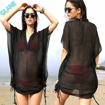 a2989a97b Detail Feedback Questions about Women Bathing Suit Sexy Lace Crochet Back  Swimwear Bikini Cover Up Beach Dress Pareo Beach Tunic Cover ups Capes on  ...