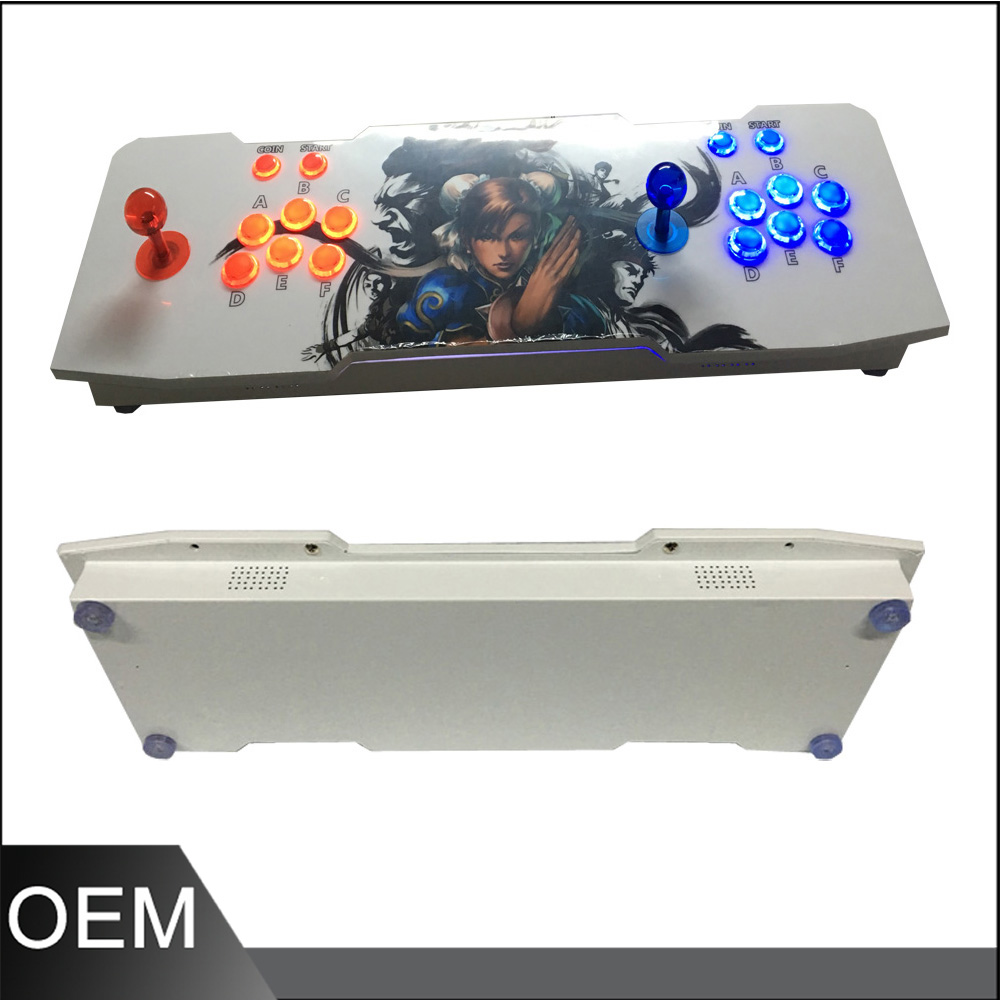 2017 Newest Joystick Consoles ,DIY arcade video game machine with 815 in 1 game pcb board Pandora's Box 4S twister family board game that ties you up in knots