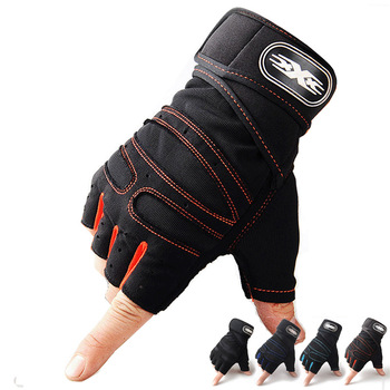 M-XL Gym Gloves Heavyweight Sports Exercise Weight Lifting Gloves Body Building Training Sport Fitness Gloves Crossfit Equipment 2