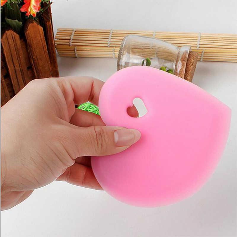 Venta caliente espátula para hornear herramientas de pastelería crema suave pastel rascador de masa DIY cocina cuchillo de mantequilla cortador de masa de alta calidad 7