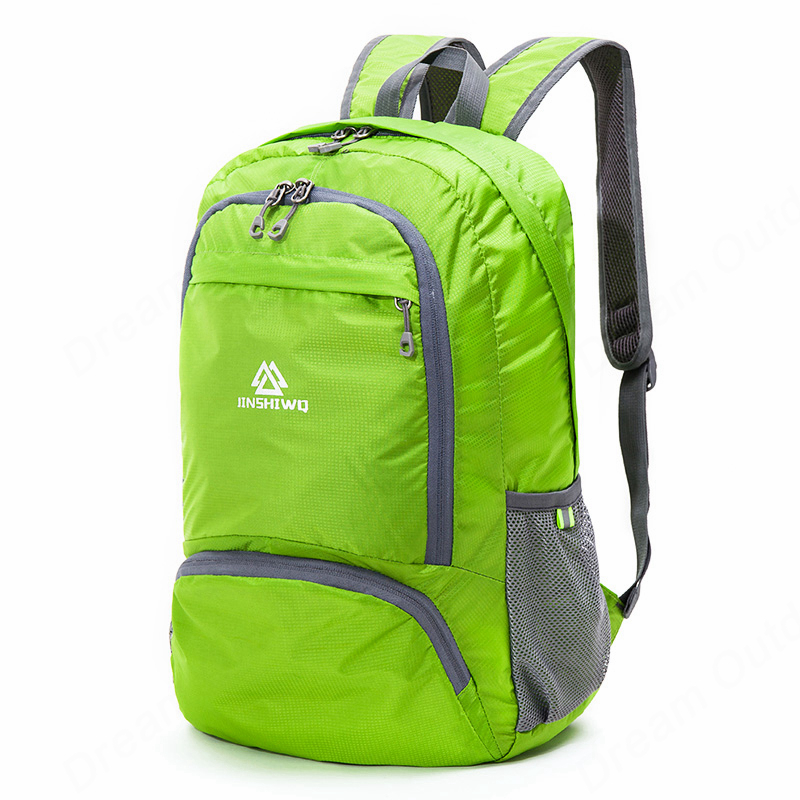 Image 4 - Lightweight Foldable Waterproof Nylon Women Men Skin Pack Backpack 20L Travel Outdoor Sports Camping Hiking Bag Rucksackhiking bagrucksack bagrucksack 20l -