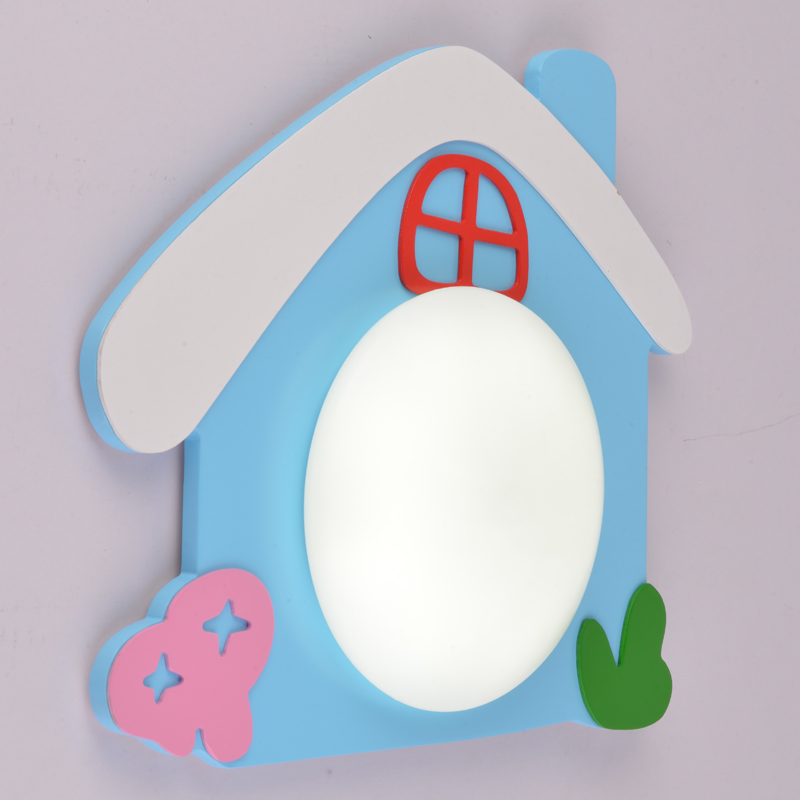 cartoon creative small room Wall lamp bedside lamp cute modern fashion simple children lighting bedroom light  CL